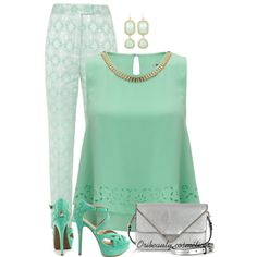 """""""Ice, Mint & Grey Contest"""" by oribeauty-cosmeticos on Polyvore"""