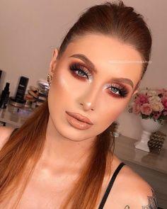 Sexy Makeup, Makeup Inspo, Makeup Looks, Pinterest Hair, Wedding Pinterest, How To Make Hair, Make Up, Makeup Shop, Huda Beauty