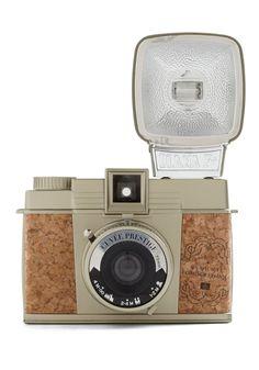Love it $109.99 Diana F+ Camera in Cuvée Prestige by Lomography - Tan, Vintage Inspired, Urban, Nautical, Graduation, Travel