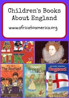 Children's books that are perfect for learning about England!