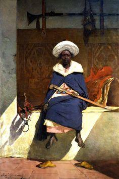 Le caïd marocain Tahamy, Benjamin Constant, 1883.