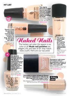 Hit List: Naked Nails | Beautezine