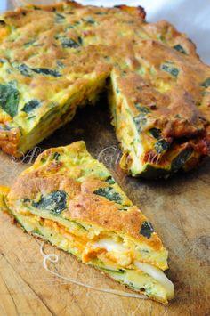 Focaccia di zucchine ripiena al forno leggera vickyart arte in cucina