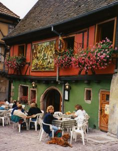 Alsace, France... this is where my college roomate's family is originally from, the Haeringers.