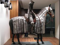 HNI 071 - Arms and Armour - Egyptian Mamluk - Field Armour and Horse Bard - 1550 by gberg2007, via Flickr
