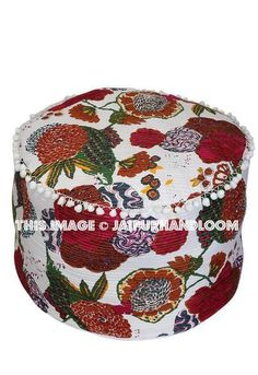 Bohemian Home Decor Trends: #ikeapouf #pouf #ottoman #handmadepouf #cottonpouf #patchworkpouf #embroideredpouf #footstool #bench #chair #patiostool #patiochair #outdoorfurniture #livingroomfurniture #beanbag #daydogbed #indianpouf
