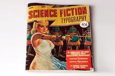 Science Fiction Typography. Giacomo Gambineri, Matteo Gualandris