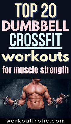 Check out this extensive list of 20 Dumbbell Crossfit Workouts that will help you boost your endurance and build your strength like never before! Box Jump Workout, Jumping Jacks Workout, Dumbbell Workout, Kettlebell, Mountain Climber Exercise, Functional Workouts, Single Leg Deadlift, Muscle Imbalance, Air Squats