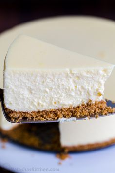 This classic Cheesecake is a tall, ultra-creamy, New York-style cheesecake. Baking with the water bath method is the secret to ensuring the perfect rise with a level top and no cracks. Perfect Cheesecake Recipe, How To Make Cheesecake, Best Cheesecake, Classic Cheesecake, Pumpkin Cheesecake, Cheesecake Recipes, Dessert Recipes, Chocolate Cheesecake, Chocolate Caramels