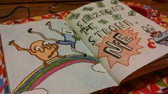 Podesłała Dominika domciadg Dębska ig @omadg #zniszcztendziennik #kerismith #wreckthisjournal #book #ksiazka #KreatywnaDestrukcja #DIY