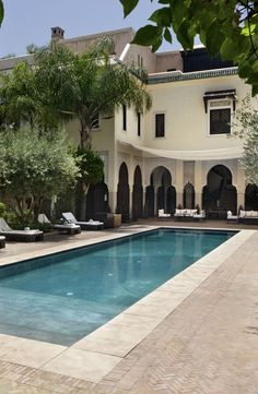 Villa des Orangers in Marrakech, Morocco. For discounted rates book with Mediteranique http://www.mediteranique.com/hotels-morocco/marrakech/la-villa-des-orangers/