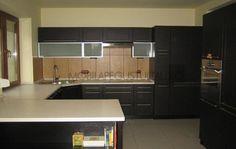 Mobila bucatarie la comanda cu fronturi din MDF cu frezare Kitchen Cabinets, Home Decor, Decoration Home, Room Decor, Cabinets, Home Interior Design, Dressers, Home Decoration, Kitchen Cupboards