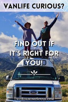 You can experience a level of freedom that money can't buy! You can see more of the world in a year than most people see in their entire lives. You can save money to pay off debt, save for a travel fund, or anything your heart desires. You can finally find the time and money to pursue your passions. #vanlife #isitrightforyou Travel Fund, Travel Tips, Stealth Camping, Campervan Rental, Class B Rv, Social Challenges, Buying An Rv, Van Camping, Rv Life