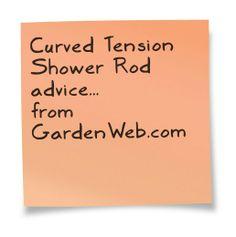 Tension Shower Rod, Shower Rods, Sticky Notes