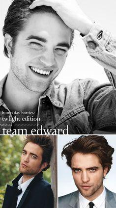 Team Edward, all the way.
