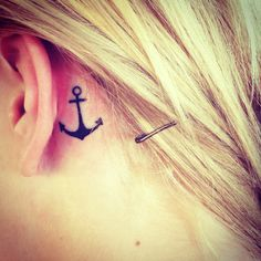Anchor tattoo - ankle (and we have this hope....)