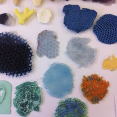 Silicone textures by Nia Davies, UCA Rochester BA(Hons) Contemporary Jewellery, 2015