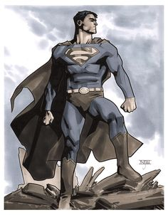 Superman, by Mahmud Asrar.