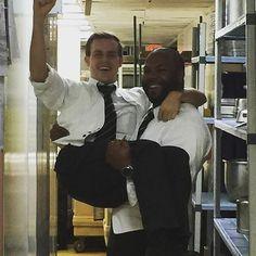 servers having a little fun