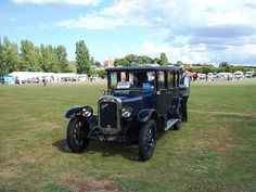 Austin 12hp car of 1929 at 'Sky Sheppey'