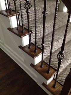 Stair carpet. Darker? #foyerdecoratingstairs