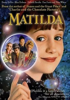 Matilda: Special Edition (1996) Cursed with obtuse parents and a martinet school principal, 6-year-old Matilda Wormwood immerses herself in books. With so much mental stimulation, she acquires telekinetic abilities -- which she unleashes on her family and odious headmistress.