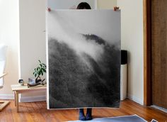 Mountain Fog Poster by debbiecarlos on Etsy