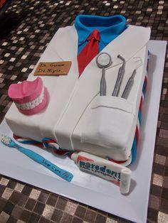 torta per dentista