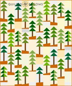 Planted Pines no seams sm wm