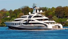 Super Large Mega Yachts- M/Y Palladium - Seatech Marine Products & Daily Watermakers