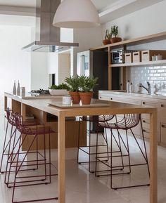 """Vai direto para a pastinha das """"cozinhas perfeitas""""... {Projeto Sala2Arquitetuta e Foto por Evelyn Müller}"""