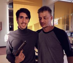 Nice photo of Tom Wlaschiha and the mexican filmmaker Javier Estupinan from yersterday`s filming Yesterday I could work with one of my favourite German actors,Tom Wlaschiha from Game of Thrones, Crossing Lines, Rush…  #shooting #gameofthrones...