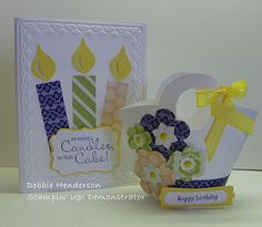 Blossom Builder punch for candle flame