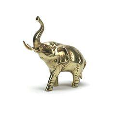 MED Vintage Brass Elephant Figurine Statue  Gold by HarpersFlea
