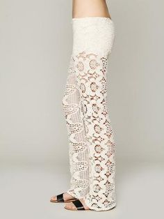 Free People Santos Lace Flare
