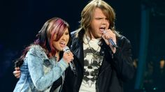 """Jessica Meuse and Caleb Johnson teamed up to perform """"Stop Dragging My Heart Around."""" See more: http://idol.ly/1hkPVTd"""