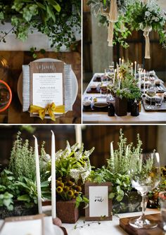 HEY LOOK: ECO-FRIENDLY WEDDING INSPIRATION