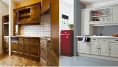 1000 images about repeindre on pinterest cuisine plan de travail and comment. Black Bedroom Furniture Sets. Home Design Ideas
