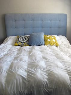 How to make a tufted headboard...Megan wants one
