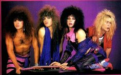 I hate to make fun of Vinnie Vincent invasion; they are one of my fav bands. But holy crap, dudes look like ladies! Vinnie Vincent, Glam Metal, Hot Band, Glam Hair, Heavy Metal Bands, Can't Stop Laughing, Pretty Men, Great Bands, Classic Rock