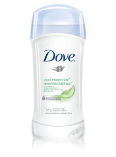 Stay cool and confident all day long with Dove® Invisible solid cool essentials™ Anti-Perspirant. #antiperspirant   #sweat #scent