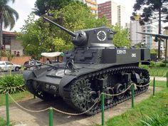 M3 Stuart, used in WW2 by Brazil