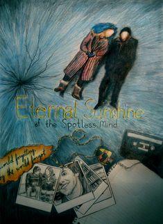 eternal sunshine of the spotless mind artwork - Google Search