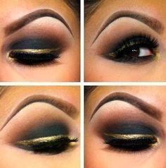 black ang gold
