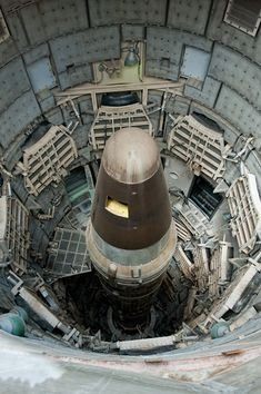 One of only a few Titan II missile silos left (the rest were destroyed in accordance with international treaty), this site has been restored and converted to a museum.