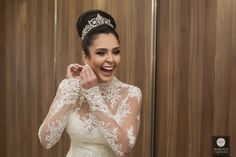Vestido de noiva | Penteado casamento | Noiva | Fotografia de casamento