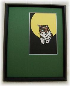 猫の切り絵です|ハンドメイド、手作り、手仕事品の通販・販売・購入ならCreema。