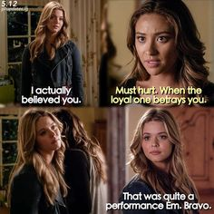 """S5 Ep12 """"Taking This One To the Grave"""" - Ali and Emily"""