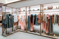 Boutique Interior, Clothing Store Interior, Clothing Store Design, Kinds Of Salad, Stores, Minimalism, Decoration, Pure Products, Guide Shop
