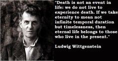 Ludwig Wittgenstein, another amazing philosopher.